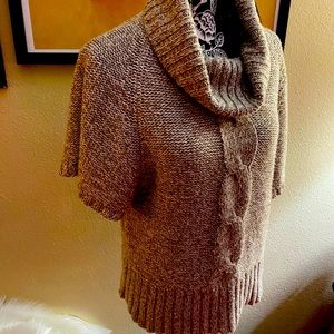 *BOGO ITEM* Brown Tweed-look Sweater